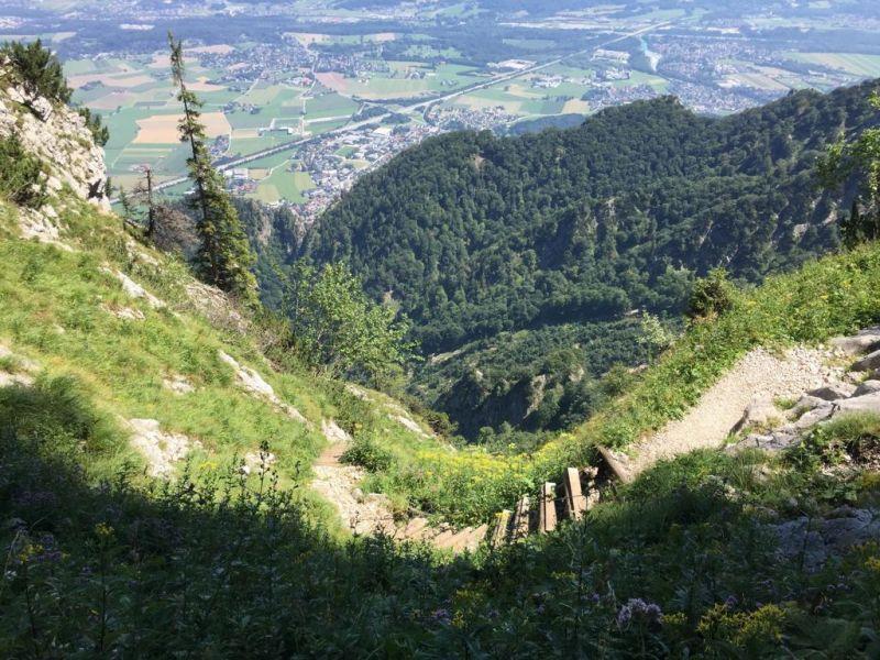 Dopplersteig am Untersberg
