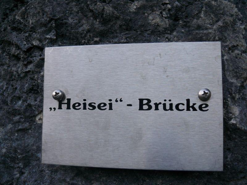 Heizei-Brücke am Grünstein