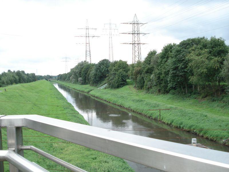 NRW Warten auf den Fluss