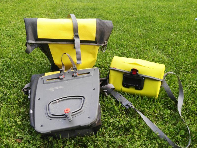 Produkttest Vaude Radtaschen Aqua Box